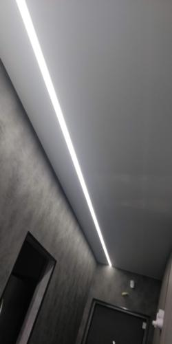 добавим света в коридоре благодаря линии