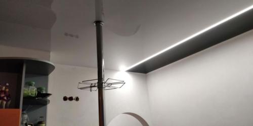 отделение зон с помощью света