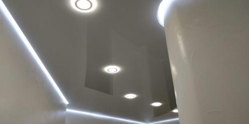 парящий натяжной потолок (1)