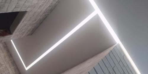 световые линии на потолке (1)