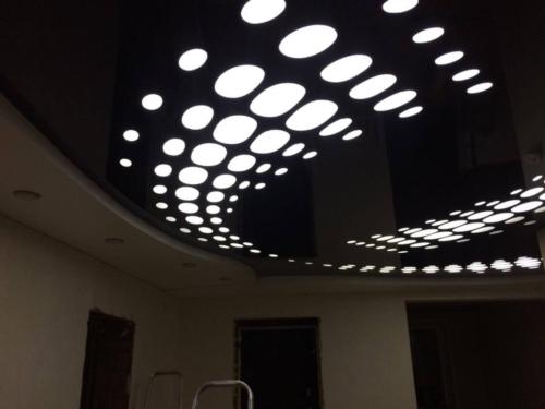 эффект иллюзии благодаря эплай на потолке